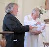 Baptism of Cecellia Margaret Burgess