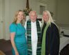 Pastor Tom Philipp and his nieces Elizabeth Philipp and Rachel Vione